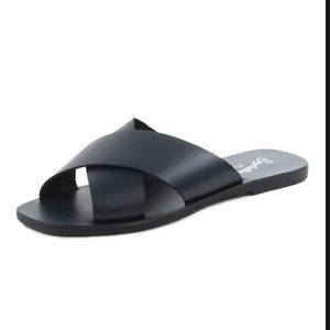 NWT!! SEychelles Total Relaxation slides - black